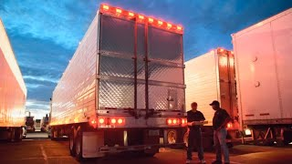 Trucker talks about how the coronavirus pandemic has posed challenges for the trucking industry