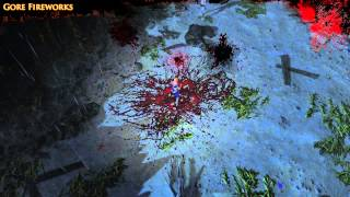 Path of Exile - Gore Fireworks