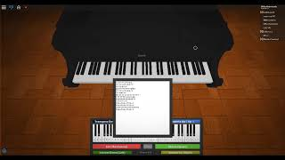Roblox piano Believer (Requested AND TOTALLY WENT SO BAD ;-;)