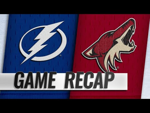 Grabner, Hinostroza power Coyotes to 7-1 victory