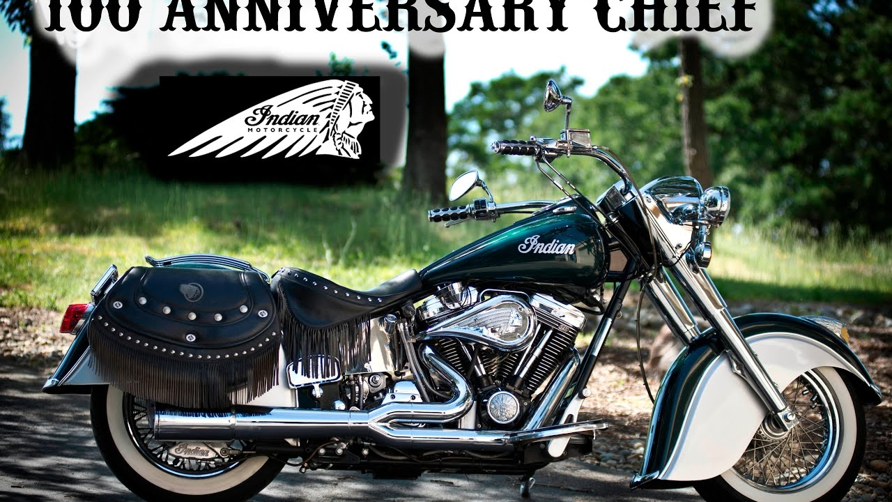 Custom Indian Motorcycle For Sale >> 2001 Indian Chief 100 Anniversary Edition - YouTube