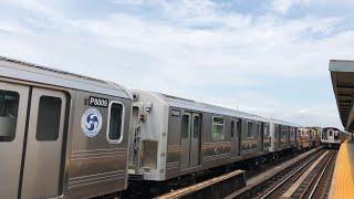 ⁴ᴷ R110A Pump Train entering Ave X Yard