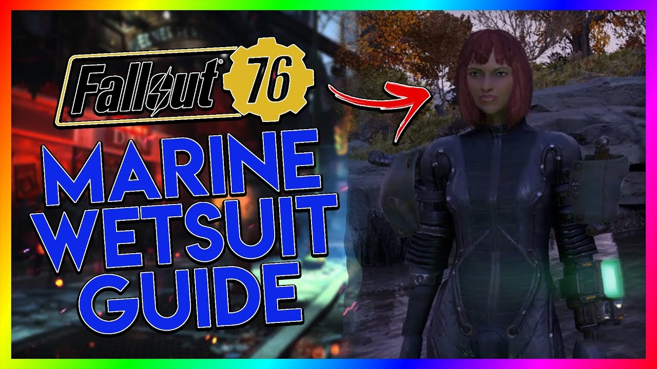 FALLOUT 76 Rare Armor Guide - Marine Wetsuit by FreakEasy