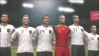 PES 2011 Gameplay  HD Germany vs Netherlands Portugal vs Argentina