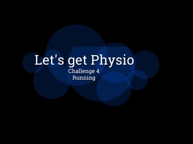 Challenge 4  Running