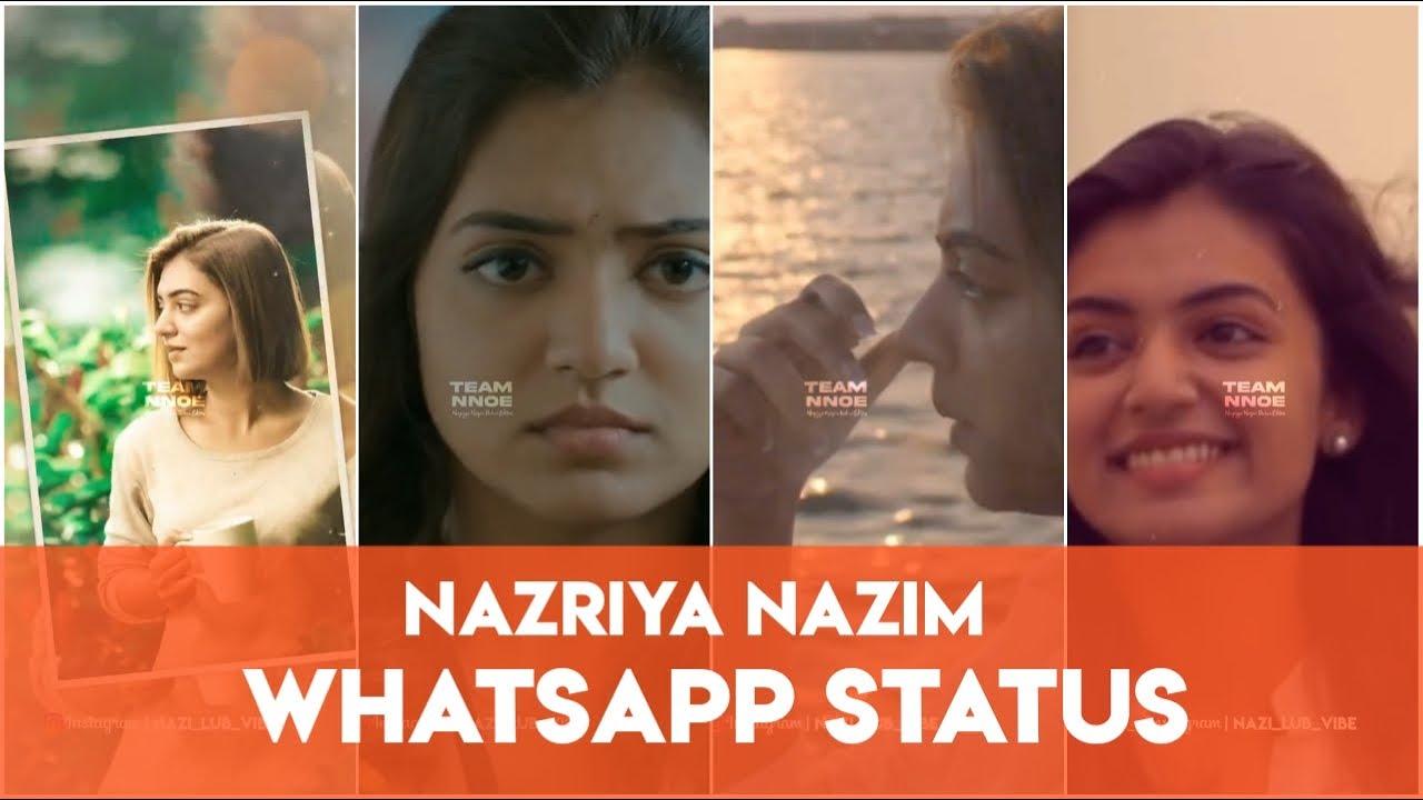 Nazriya Nazim 😍 Mass & cute  Whatsapp Status 🔥 😎