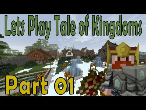 MINECRAFT: REVIEW - TALE OF KINGDOMS MOD [1.6.2 Y 1.6.4]