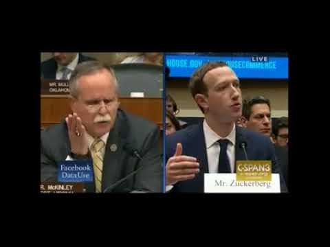 Rep  McKinley Questions Mark Zuckerberg on Illegal Opioid Sales on Facebook