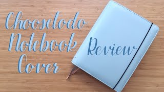 Review | Choosetodo Notebook Cover Unboxing