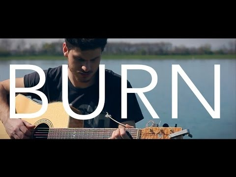 Burn - Ellie Goulding (acoustic guitar cover by Damien McFly)