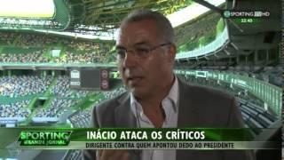 Augusto Inácio arrasa os críticos à gestão de Bruno de Carvalho (11/6/2015)