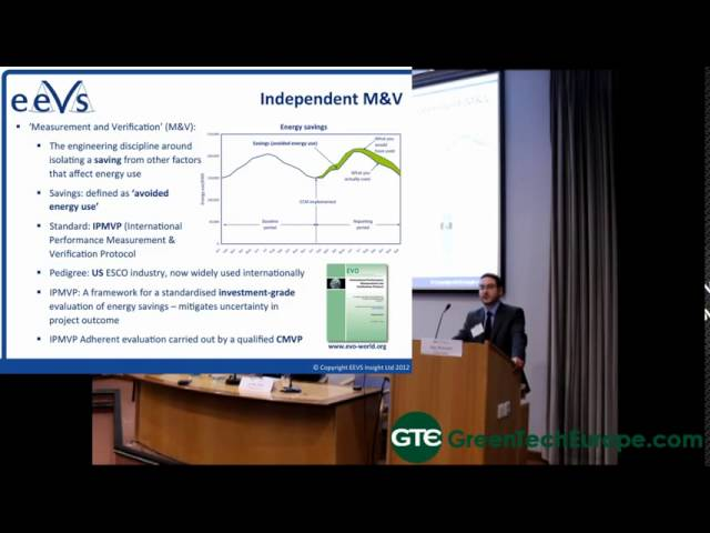 EEVS Insight Presentation: Energy Efficiency verification