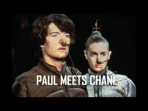 Paul meets Chani. Dune OST 1984 (PaulStretch 18min version)