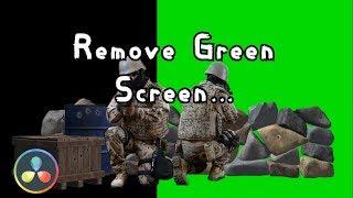 How to remove green screen in video in தமிழ் ?   Davinci Resolve   Tamil   Tamil Byte