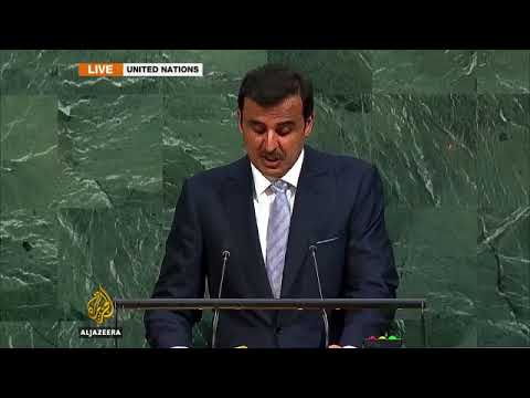 Qatar Emir Sheikh Tamim's UN speech in full