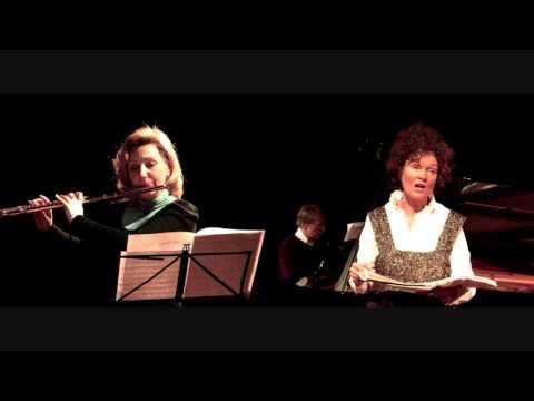 Aivars Kalējs: Deux madrigaux for soprano, flute and piano