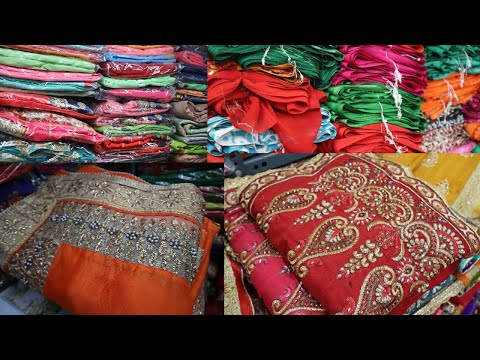Surat Saree Factory For Wholesale Business | Latest Saree Collection Of 2019 | STM
