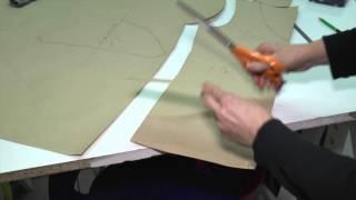 Repeat youtube video Comment reproduire un patron à partir d'un vêtement