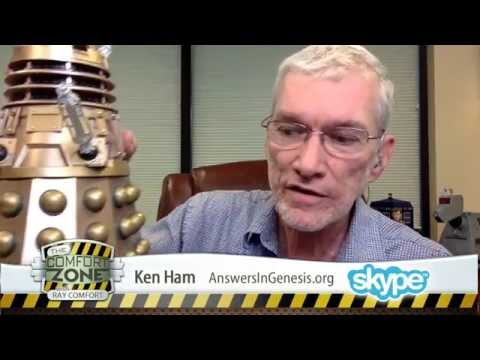 Ken Ham: Aliens Go to Hell? (LIVE Interview)