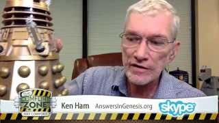 Ken Ham: Aliens Go to Hell? (LIVE Interview)