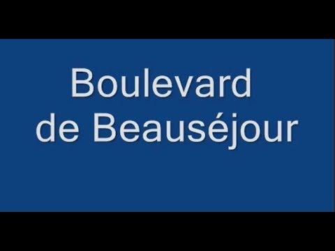 Boulevard de Beauséjour Paris Arrondissement  16e