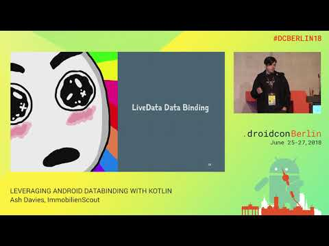 Leveraging Android Data Binding with Kotlin - ashdavies