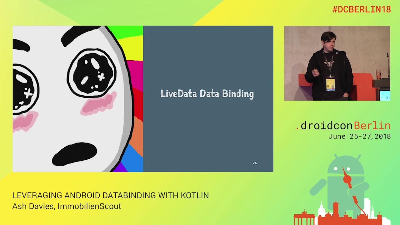 Leveraging Android Data Binding with Kotlin - ashdavies ™ - Medium