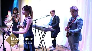4 piece wedding Jazz band from Live Music Entertainment(cover by Jonathan)