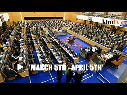 Amid GE14 speculation, first parliament sitting dates for 2018 announced