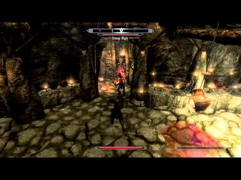 SKYRIM How To Clear Ragnvald Temple Quest Commentary + Tutorial