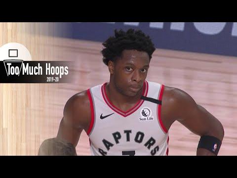 Raptors vs Lakers ALL-DEFENSE Breakdown of Toronto's elite defense - A. Davis 2/7 fg - Aug 1 2020