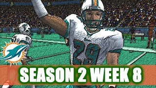 LOOKING LIKE A SUPER BOWL TEAM - MADDEN 2004 DOLPHINS FRANCHISE VS RAMS S2W8