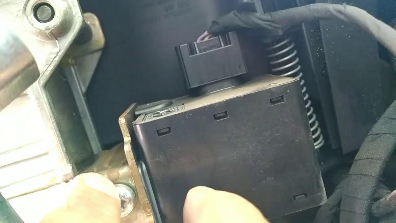 Renault megane stering wheel not locked
