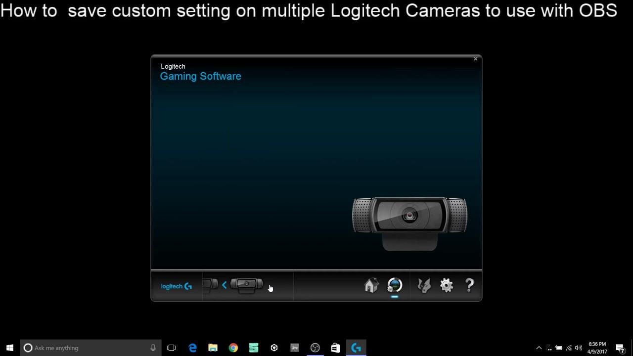 dd83fdd9903 How to Adjust multiple Logitech 920 webcams in advanced settings ...