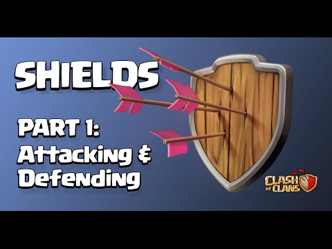 Clash Of Clans | HOW TO GET THE MOST OUT OF YOUR SHIELD (FARMING & TROPHY PUSHING)