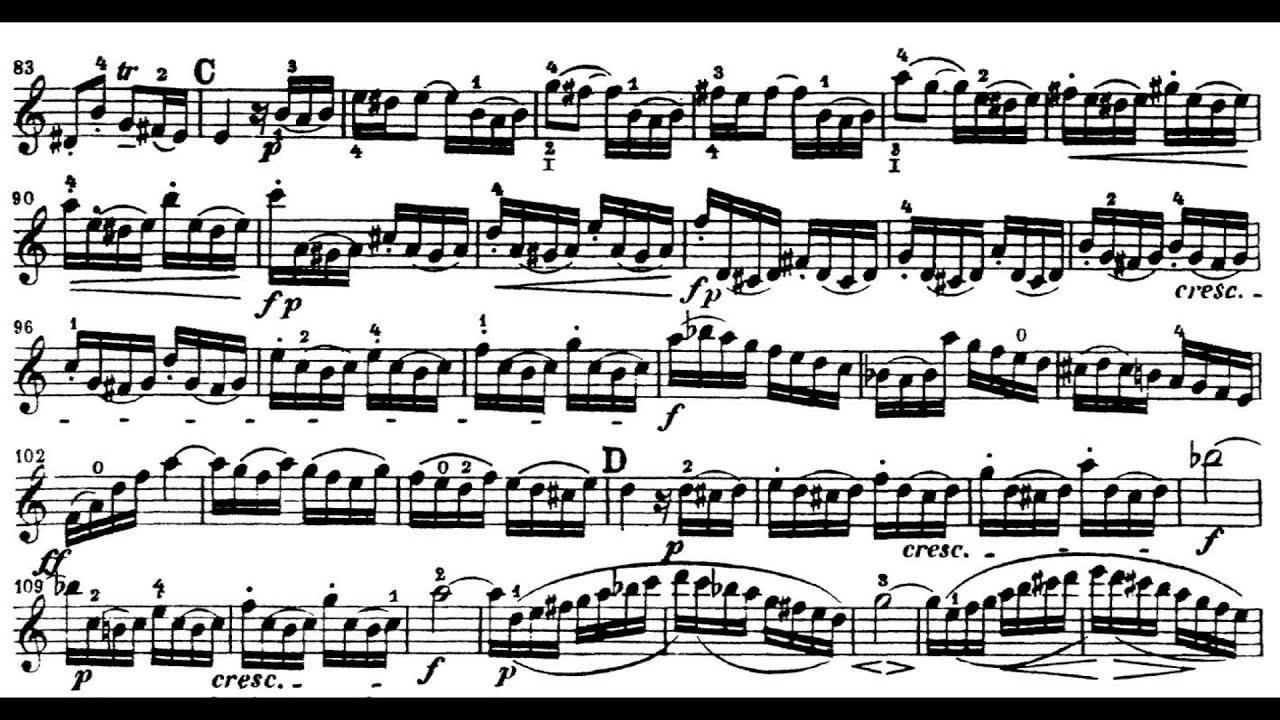 Bach - Violin Concerto in A minor - I Allegro moderato [Play along ...
