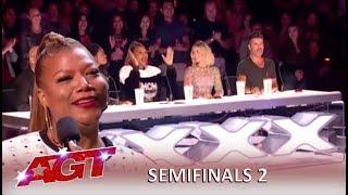 Queen Latifah Guest Judge on 'AGT' Semifinals | America's Got Talent 2019