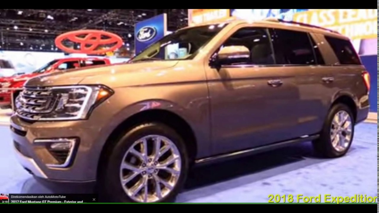 Ford Expedition 2018 - New 2018 Ford Expedition MAX Platinum First Look Chicago Autoshow - YouTube