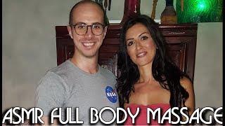 💆 Italian Girl soft Massage - ASMR video