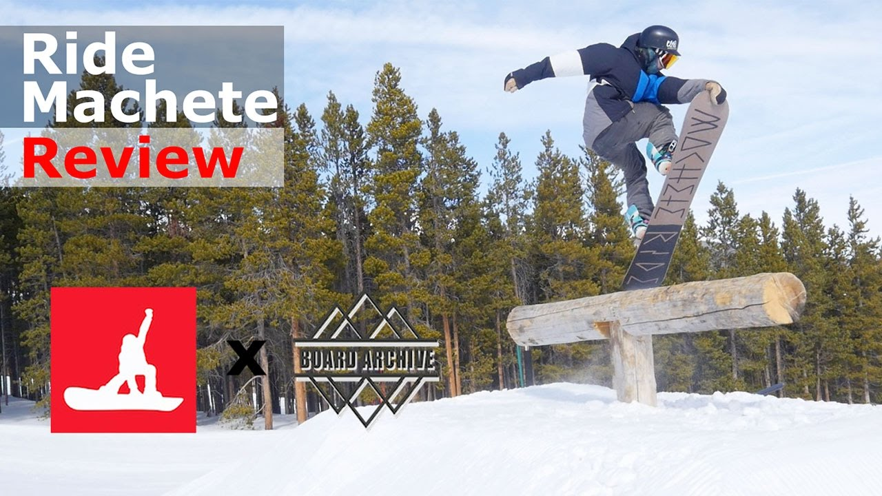 2017 Ride Machete Snowboard Review | The Angry Snowboarder