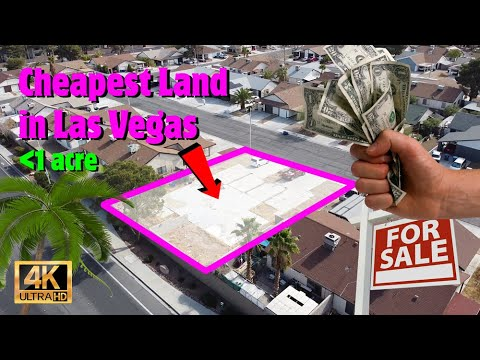 """""""Cheapest"""" Land for Sale in Las Vegas - Real Estate Market & Home Building"""