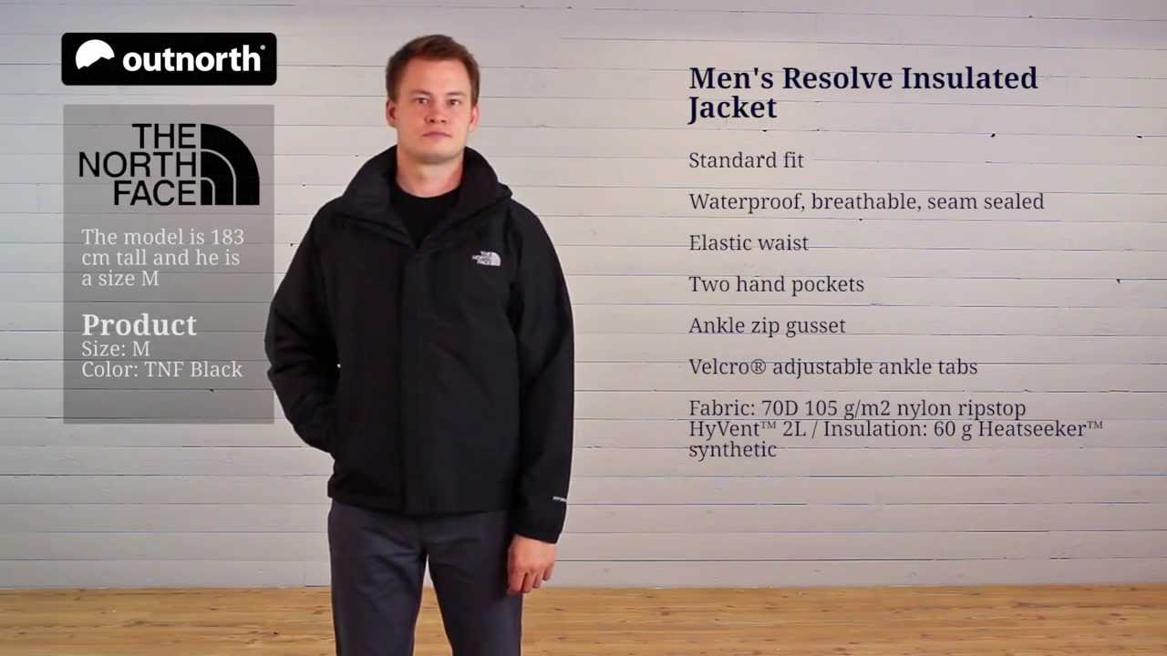 6ebef198d The North Face Men's Resolve Insulated Jacket | Outnorth Demo