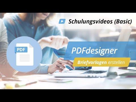 Schulungsvideo: PDFdesigner – Briefvorlagen erstellen | onOffice