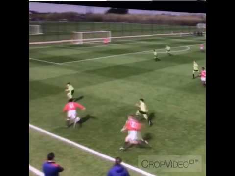 Anthony Elanga - Manchester United U15s (2)