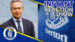 Farhad Moshiri Buys 49.9% Of Everton | Instant Reaction | Everton Takeover