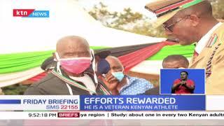 Efforts Rewarded: Veteran athlete Francis Musyoki recognized during mashujaa day celebrations