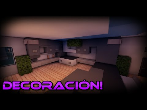 Como decorar una casa moderna en minecraft tutoriales - Como decorar mi casa ...