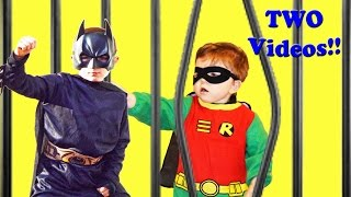 The Best of Little Superheroes - Robin's Capture, Wolverine goes to Jail and Spiderman's Setup