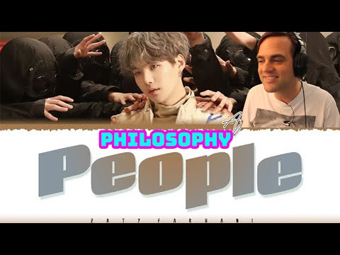 [Philosophical Thoughts] AGUST D - 'PEOPLE' Reaction // D2, Suga from BTS // Guitarist Reacts