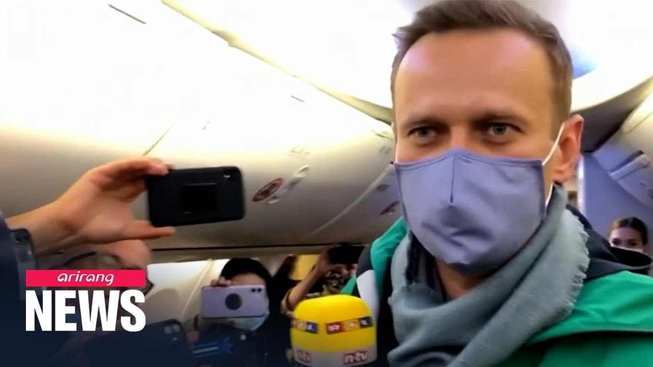 Alexey Navalny detained on return to Moscow five months after ...